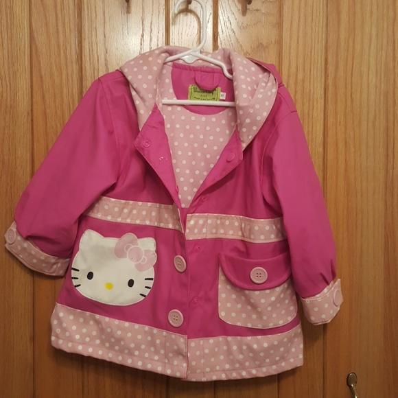 38779331e Western Chief Jackets & Coats | Hello Kitty Rain Coat 3t | Poshmark